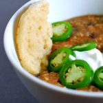 Jalapeno Black Bean Soup @spabettie #glutenfree #vegan #gameday #comfortfood