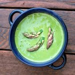 Asparagus Pepper Bisque @spabettie #vegan #oilfree #soyfree #glutenfree #comfortfood #wholefood #plantbased