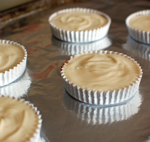 Peanut Butter Cups Step By Step