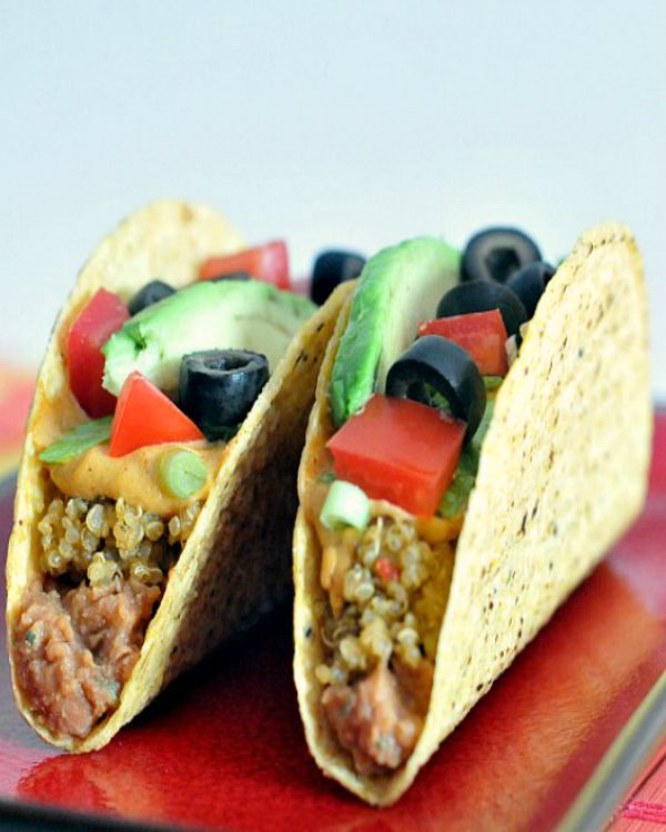 Seven Layer Tacos @spabettie
