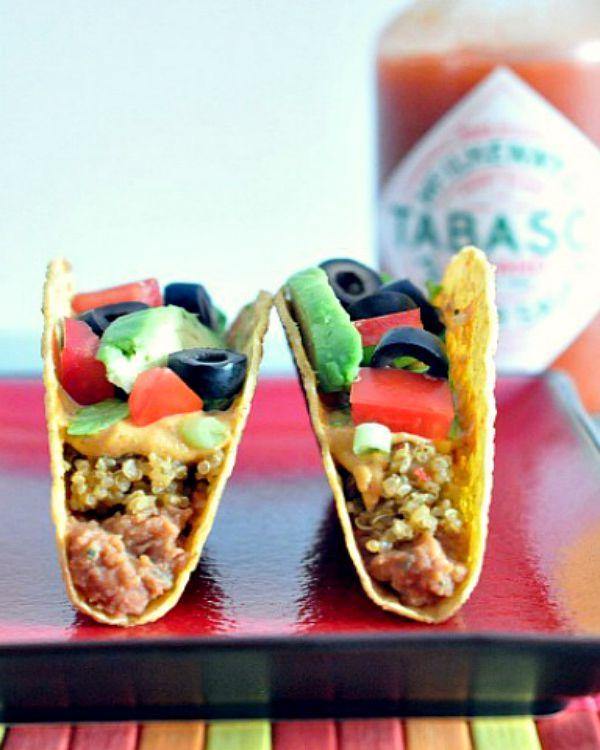 Seven Layer Tacos @spabettie