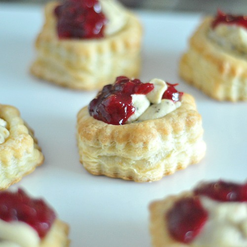Garlic Pistachio Cranberry Tart