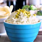 Dill Pickle Dip @spabettie