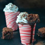 Hot Chocolate Peppermint Shots @spabettie #vegan