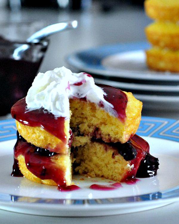 Lemon Cardamom Cake Stacks @spabettie
