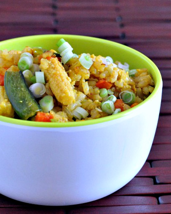 Vegetable Fried Rice @spabettie