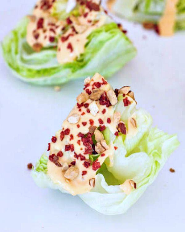 Chipotle Tomato Mini Wedge Salads @spabettie