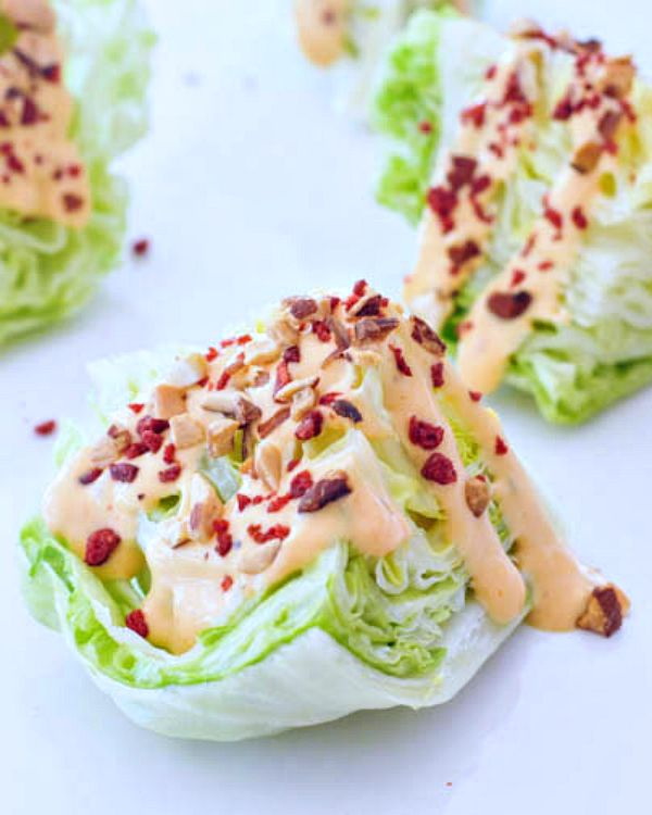 Chipotle Tomato Mini Wedge Salads @spabettie