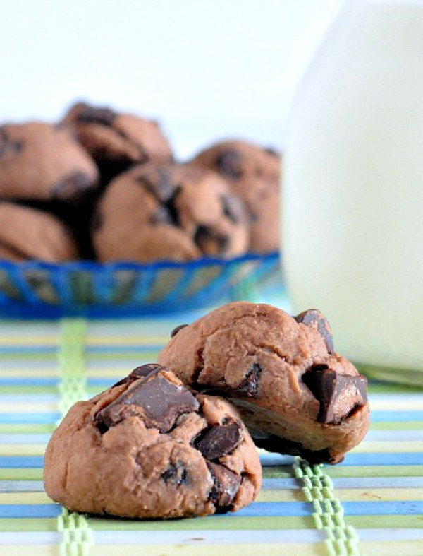 Double Rich Chocolate Protein Cookies