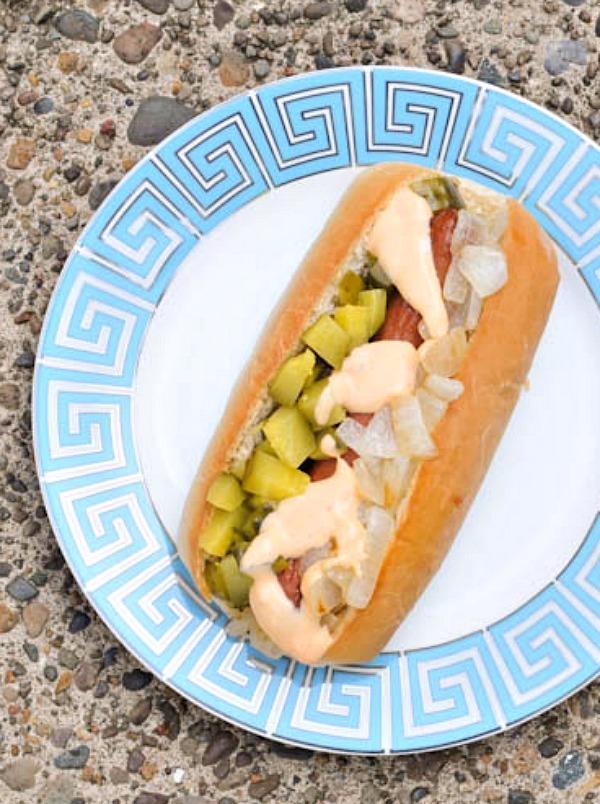 Hot Dog Topping Bar - Reuben Dog