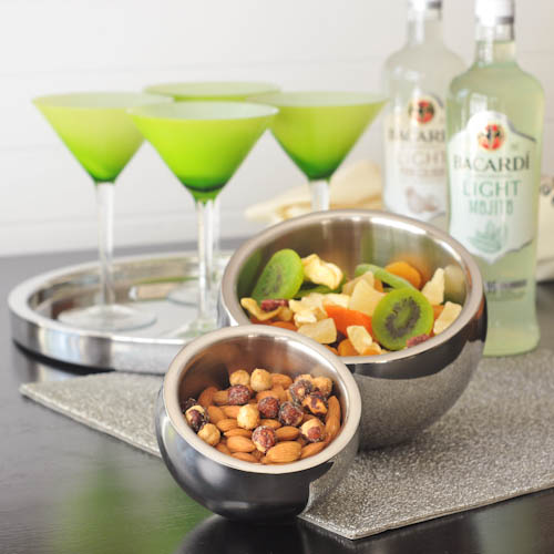 A Shiny Chic Cocktail Party