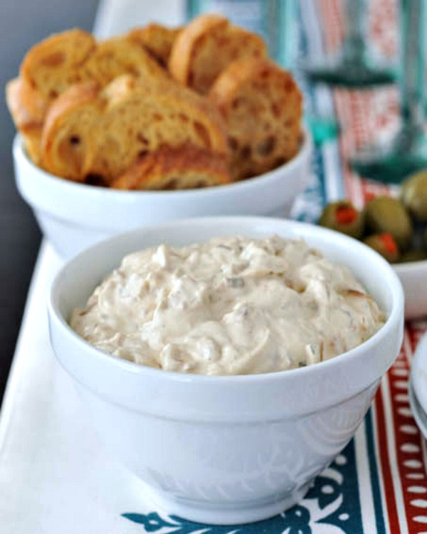 Caramelized Shallot Dip @spabettie