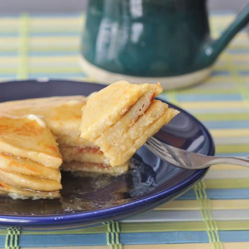 Sweet Cream Protein Pancakes