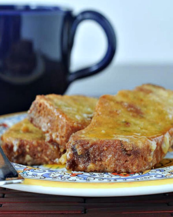 Zucchini Bread French Toast @spabettie
