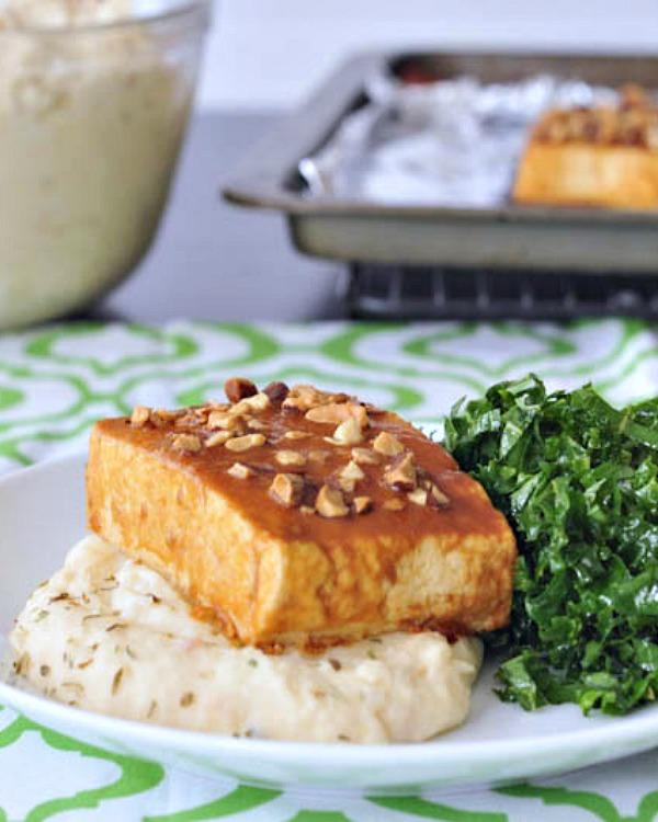 Cauliflower Protein Mash @spabettie