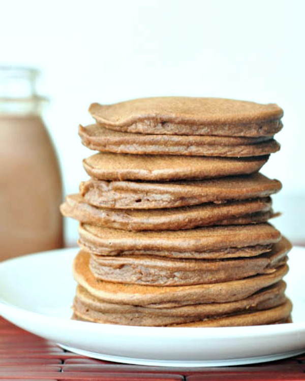 Double Rich Chocolate Pancakes @spabettie