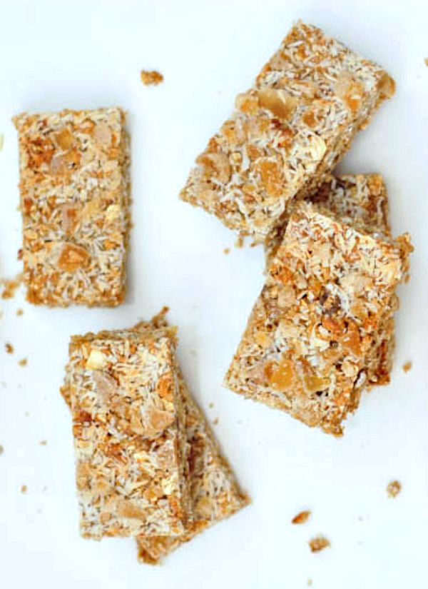 Ginger Vanilla Protein Crunch Bars @spabettie