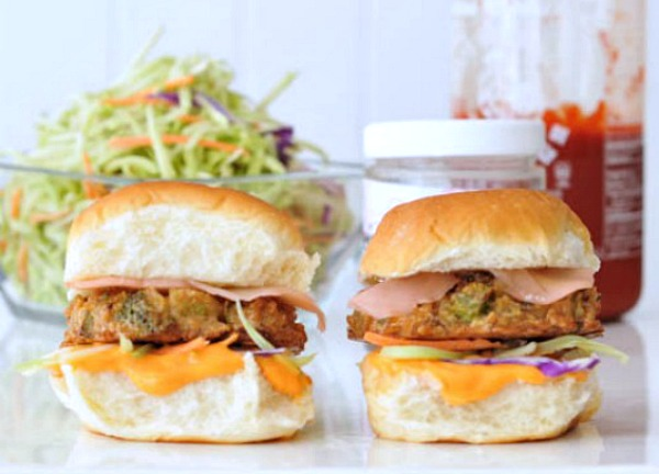 Sushi Veggie Sliders @spabettie