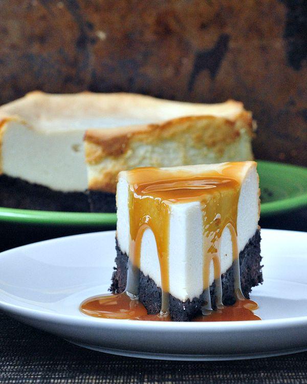 Brownie Bottomed Cheesecake @spabettie
