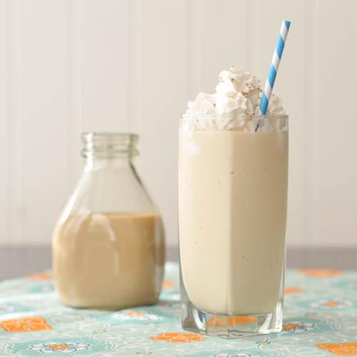 Salted Caramel Baileys Milkshake