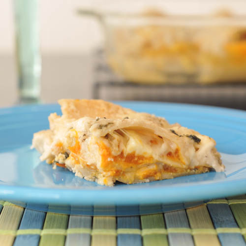 Roasted Butternut Lasagna with Crispy Sage