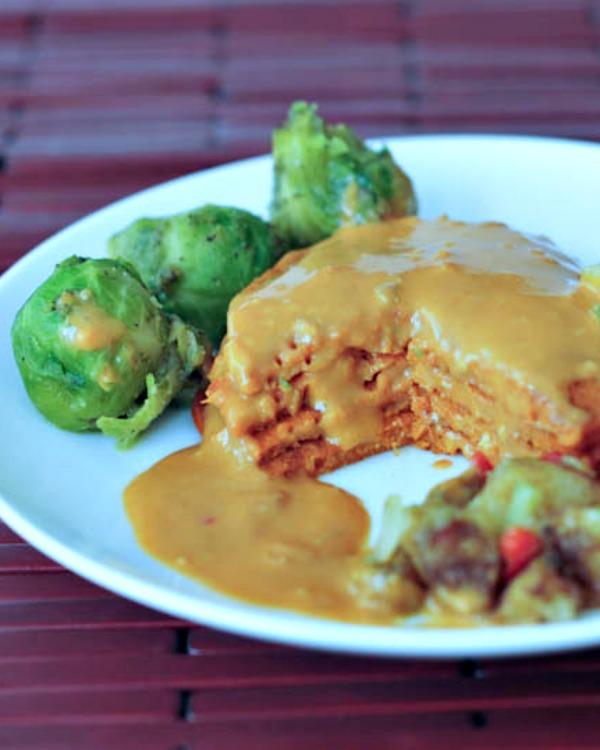 Savory Tomato Protein Pancakes @spabettie
