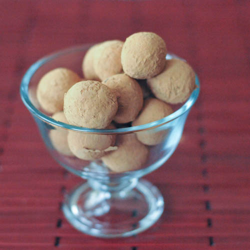 Chocolate Bourbon Caramel Truffles - spabettie