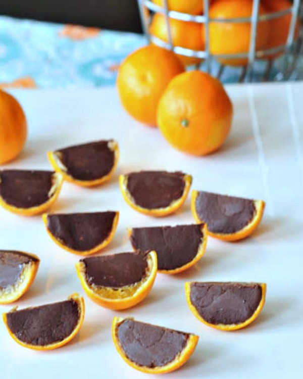 Mandarin Orange Fudge Slices @spabettie