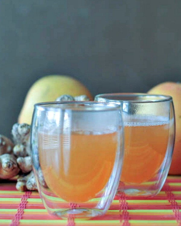 Grapefruit Ginger Vodka Toddy @spabettie
