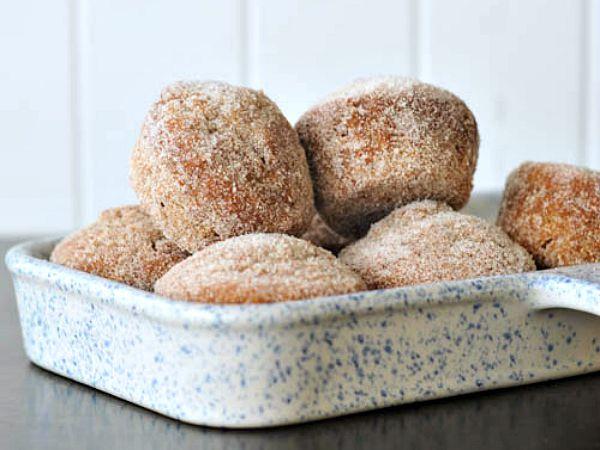 Sugared Chai Latte Banana Muffins @spabettie