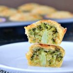 Vegan Broccoli Cheese Muffins @spabettie