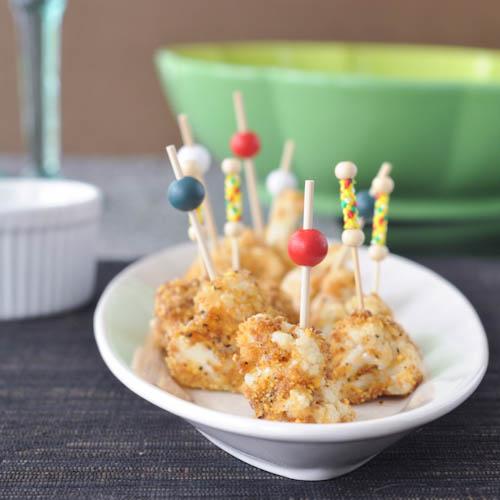 sesame-orange crispy cauliflower