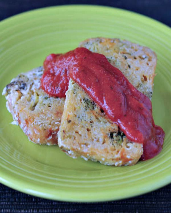 Savory French Toast - Broccoli Cheddar @spabettie