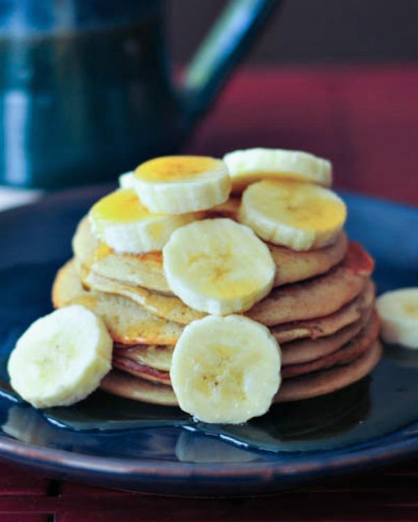 Banana Maca Pancakes @spabettie