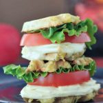 Grilled Cheese Wafflewich Sliders @spabettie