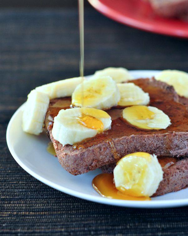 Cherry Vanilla Protein French Toast @spabettie