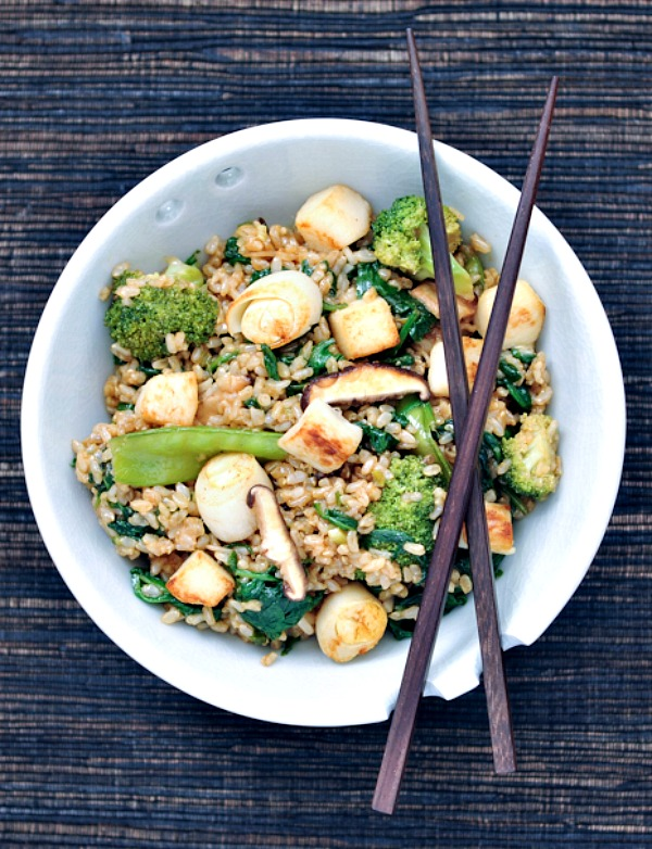 Sesame Scallop Fried Rice @spabettie
