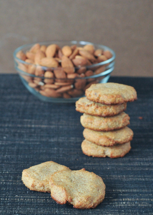 easiest almond cookies
