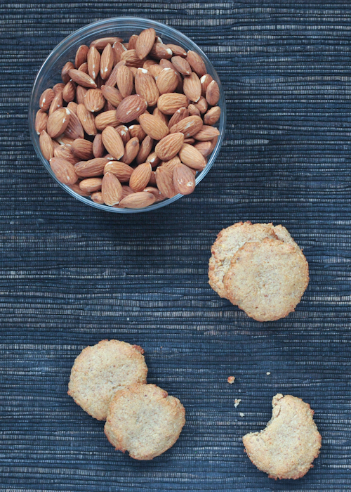 vegan almond cookie