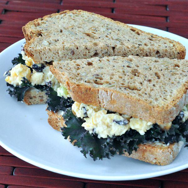 Roasted Garlic Chickpea Salad Sandwich @spabettie