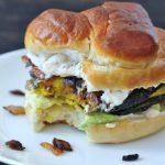 Caramelized Onion Kabocha Sandwich @spabettie #vegan