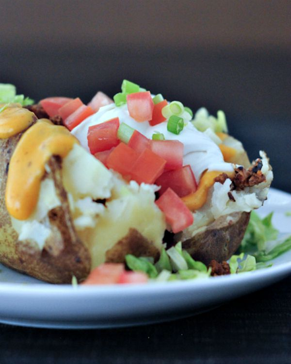 Taco Stuffed Baked Potato @spabettie