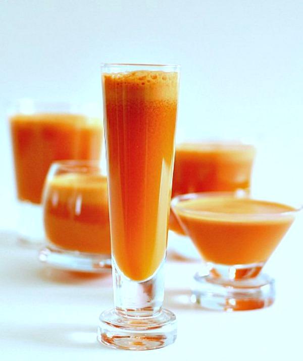 Papaya Turmeric Mocktail