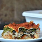 Hearty Portobello Kale Lasagna @spabettie