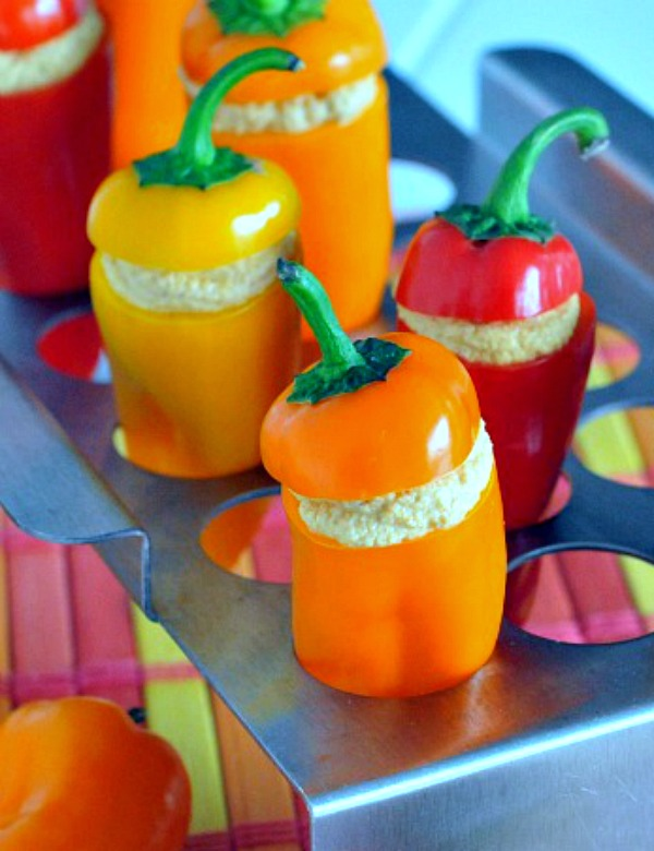Spicy Stuffed Sweet Peppers