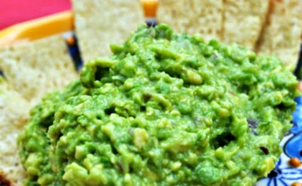 Tomatillo Pineapple Guacamole
