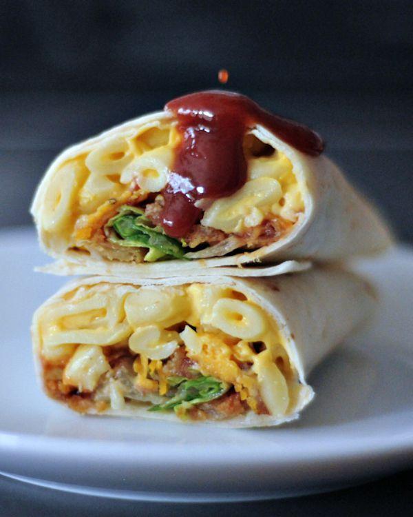 BBQ Mac and Cheese Burrito @spabettie