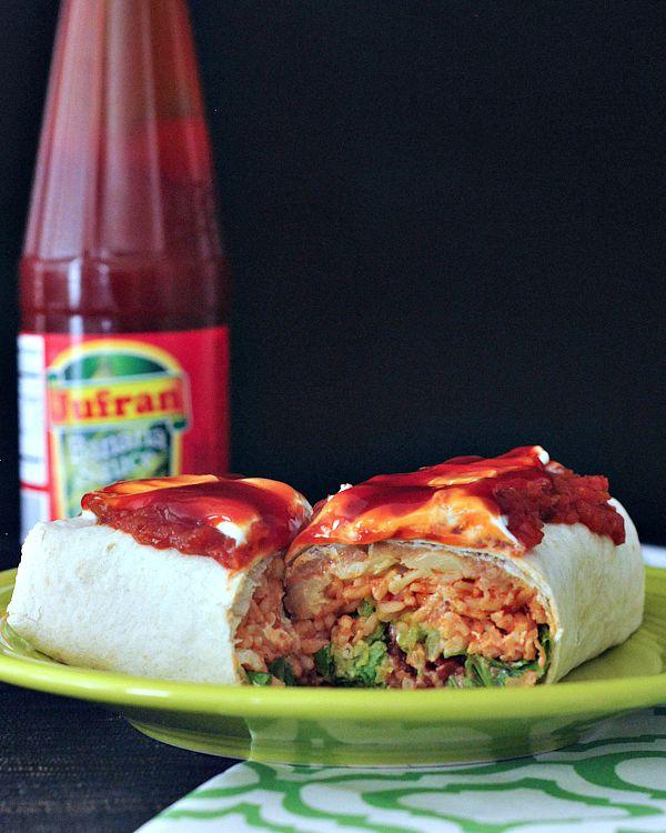 Freakin' Big Burrito @spabettie