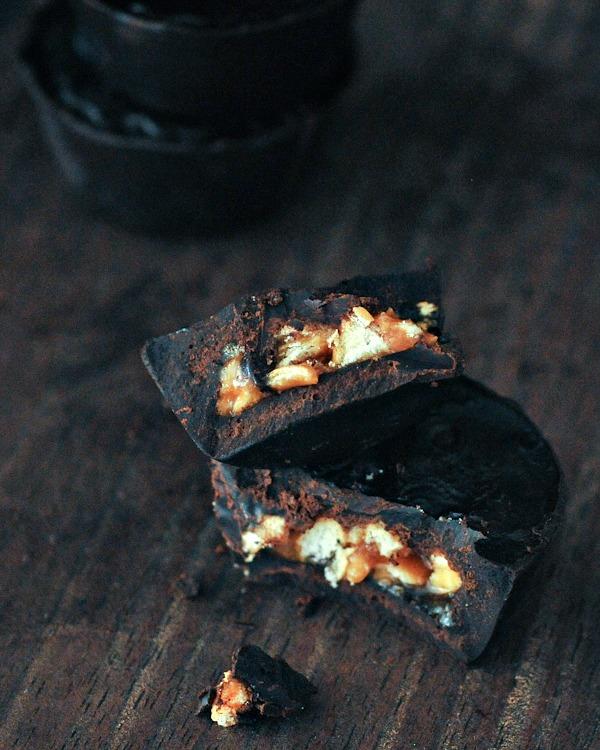 Buttery Crunch Caramel Cups @spabettie