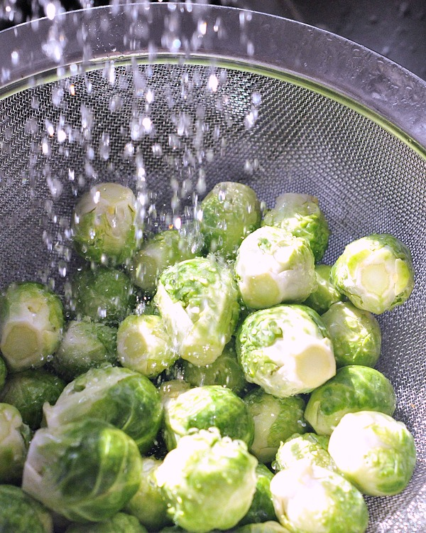 Ginger Lime Brussels Sprouts @spabettie